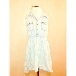 Forever 21 Sleeveless Denim Dress, Size L